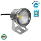 Προβολέας LED Κήπου 10W 12V 900lm 35° Αδιάβροχο IP65 Θερμό Λευκό 3000k GloboStar 77390
