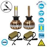 LED HID KIT H1 45 Watt 4500 Lumen 9-32 Volt DC 6000k GloboStar 99700