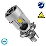 LED Βασικός Φωτισμός Μοτοσυκλέτας H4/HS1 40 Watt 12 Volt 4000 Lumen GloboStar 67787
