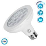 Λάμπα LED E27 PAR30 Σποτ 12W 230V 1180lm 36° Φυσικό Λευκό 4500k GloboStar 01773