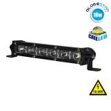 Μπάρα Φωτισμού LED Mini Slim 18W 10-30V 2520lm 30° Αδιάβροχη IP65 Ψυχρό Λευκό 6000k GloboStar 05187
