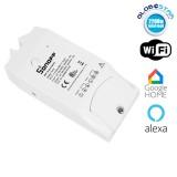 SONOFF TH10 Monitor Smart Home Temperature & Humidity WiFi - Ασύρματος Έξυπνος Διακόπτης Μετρητής Υγρασίας & Θερμοκρασίας WiFi 10 Ampere GloboStar 48459
