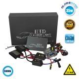 Σετ Φωτισμού Xenon 35 Watt H3 Slim Ballast 6000k GloboStar 22250